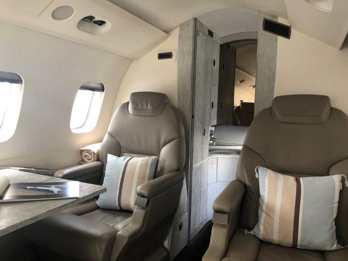 Cabin rear seats